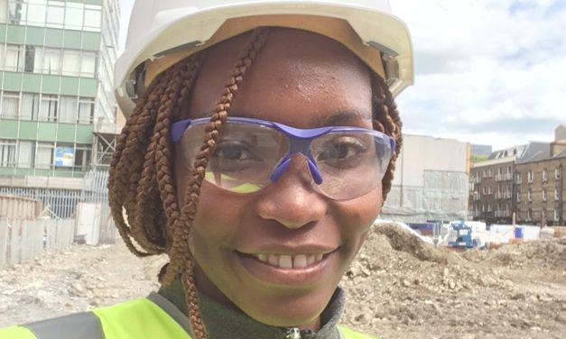Women in construction: Glorence Makharinge