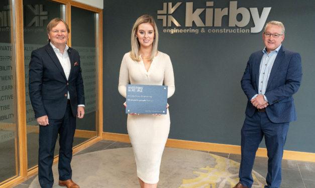 Kirby receives Investors in People platinum award