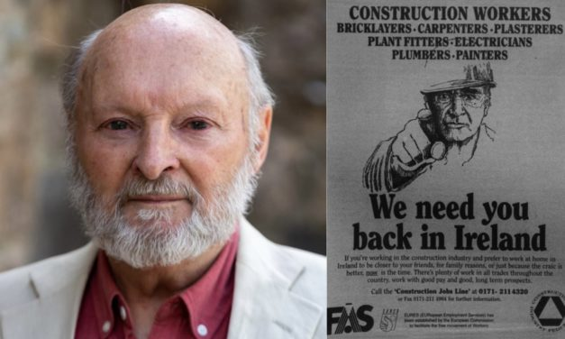 Historian Ultan Cowley: Looking at past lessons could help entice skilled workers back to Ireland